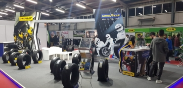Kapodistrias took part at the Boyz Stuff Show 2018 with Goodyear & Dunlop