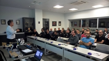 Schaeffler Seminar on Ruville products for Kapodistrias salespeople